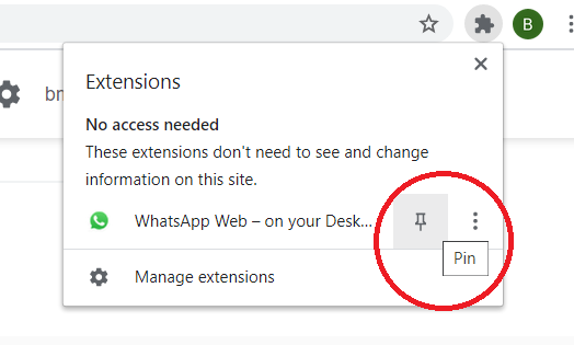 use WhatsApp For PC using this Chrome Extension